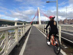 基隆河自行車道-大直橋